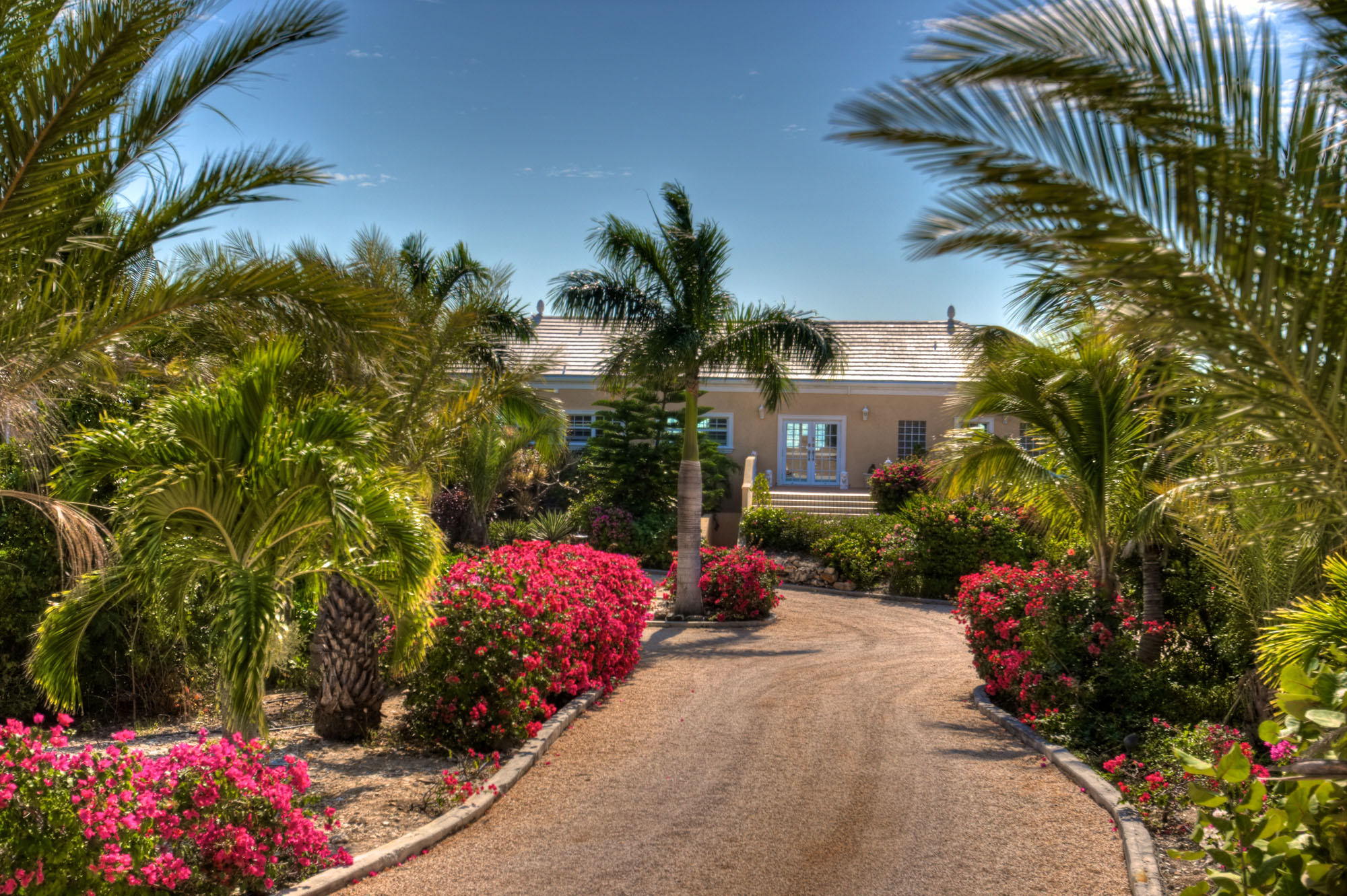 Three Dolphins Villa is set on 2 acres on the suth side of Providenciales (Provo), Turks and Caicos Islands