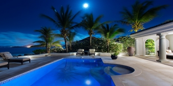 Les Palmiers, Baie Rouge Beach, Terres-Basses, Saint Martin villa rental, French West Indies.