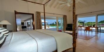 Bamboo villa, Baie Longue, Terres-Basses, Saint Martin, Caribbean.