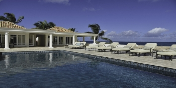 Beau Rivage villa, Baie Rouge Beach, Terres-Basses, St. Martin, French West Indies.