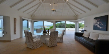 Terrasse de Mer villa rental, Baie Rouge, Terres-Basses, St. Martin, French West Indies.