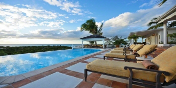 Mille Fleurs villa, Plum Bay, Terres-Basses, St. Martin, French West Indies.
