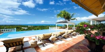 Mille Fleurs villa, Baie aux Prunes, Terres-Basses, Saint Martin, Caribbean.