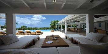 Encore villa, Baie aux Prunes, Terres-Basses, Saint Martin, Caribbean.