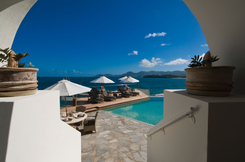 L'Oasis villa rental, Baie Rouge Beach, Terres-Basses, St. Martin, French West Indies.