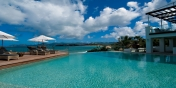 L'Oasis villa, Baie Rouge Beach, Terres-Basses, Saint Martin, Caribbean.
