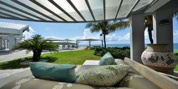 Le Reve luxury villa rental, Baie Rouge Beach, Terres-Basses, Saint Martin, Caribbean.