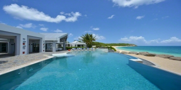 \The Dream\ is an 8 bedroom, fully staffed, Caribbean villa with dramatic architecture, ultra deluxe decor, state of the art amenities and stunning location!
