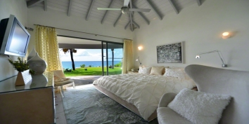 Le Reve luxury villa rental, Baie Rouge Beach, Terres-Basses, St. Martin, French West Indies.