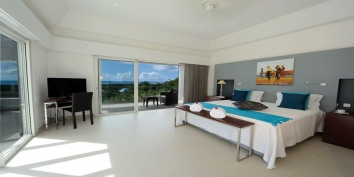 Just in Paradise, Plum Bay, Terres Basses, St. Martin villa rental, French West Indies.