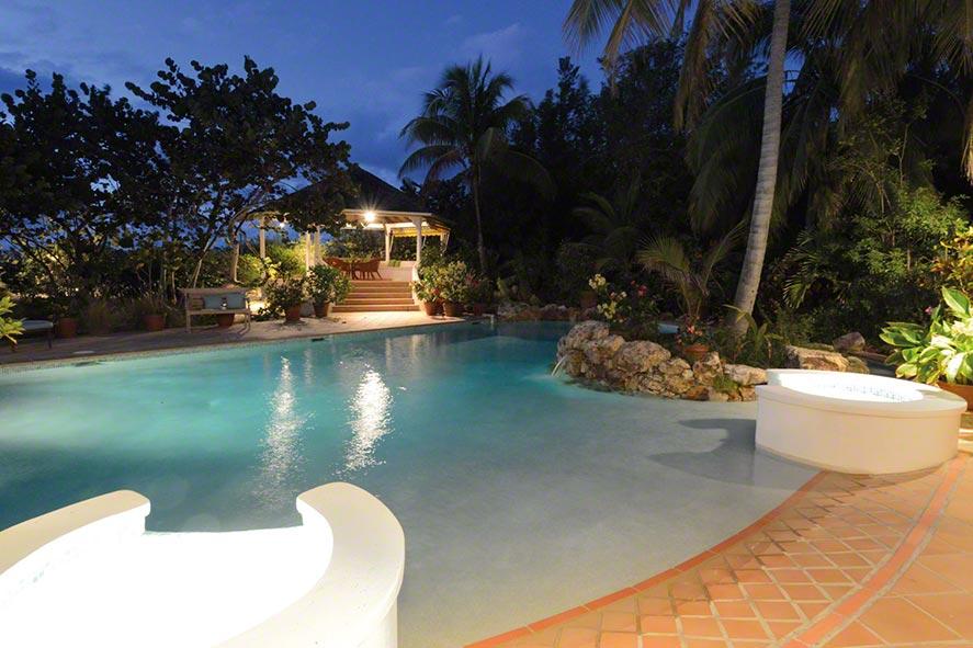 Soleil Couchant beach house, Plum Bay Beach, Terres Basses, St. Martin, French West Indies.