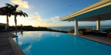Happy Bay Villa rental, Mont Choisy, Happy Bay, Saint Martin, Caribbean.