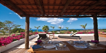 Hacienda, Baie Longue, Terres Basses, St. Martin villa rental, French West Indies.