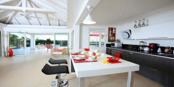 Coral villa rental, Baie Rouge, Terres Basses, Saint Martin, Caribbean.