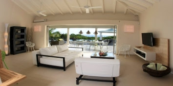 La Kiwi, Baie Longue, Terres-Basses, St. Martin villa rental, French West Indies.