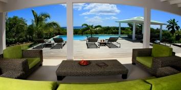 Kiwi villa rental, Long Bay, Terres Basses, Saint Martin, Caribbean.