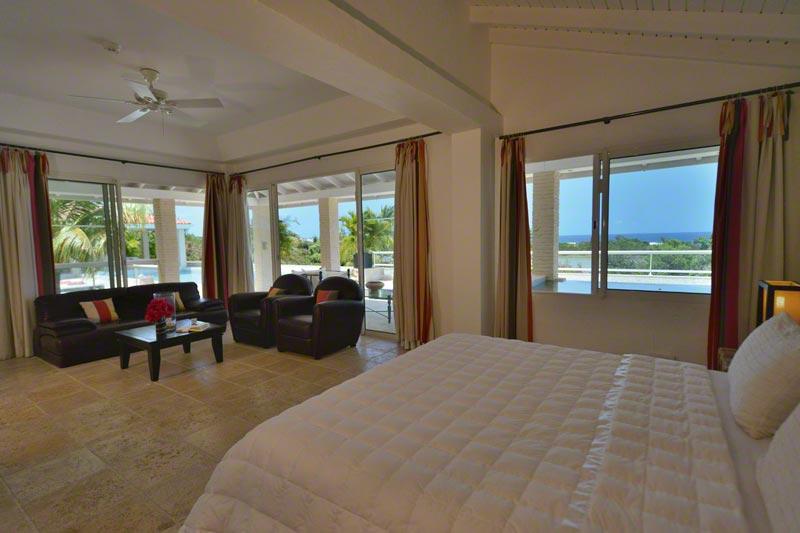 La Favorita villa rental, Baie Longue, Terres Basses, Saint Martin, Caribbean.