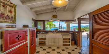 An elegant desing with gorgeous ocean views, Le Mas des Sables villa rental, Baie aux Cayes, Terres Basses, Saint Martin, Caribbean.