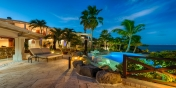 Enjoy stunning views on the ocean at this luxury St. Martin villa rental.