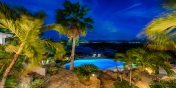 Private oasis under the stars, Le Mas des Sables villa rental, Baie aux Cayes, Terres Basses, Saint Martin, Caribbean.