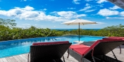 Soak up the sun while you are on vacation at this St. Martin villa rental at the French West Indies.