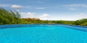 Little Provence villa rental, Baie Longue, Terres-Basses, Saint Martin, Caribbean offers a large freshwater swimming pool.