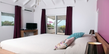 La Magnolia, Baie Longue, Terres Basses, St. Martin villa rental, French West Indies.