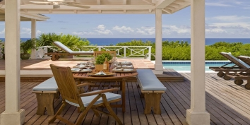 La Croisette, Baie Longue, Terres Basses, St. Martin villa rental, French West Indies.