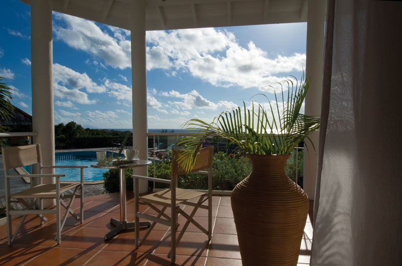 Lotus , Baie Longue, Terres Basses, St. Martin villa rental, French West Indies.