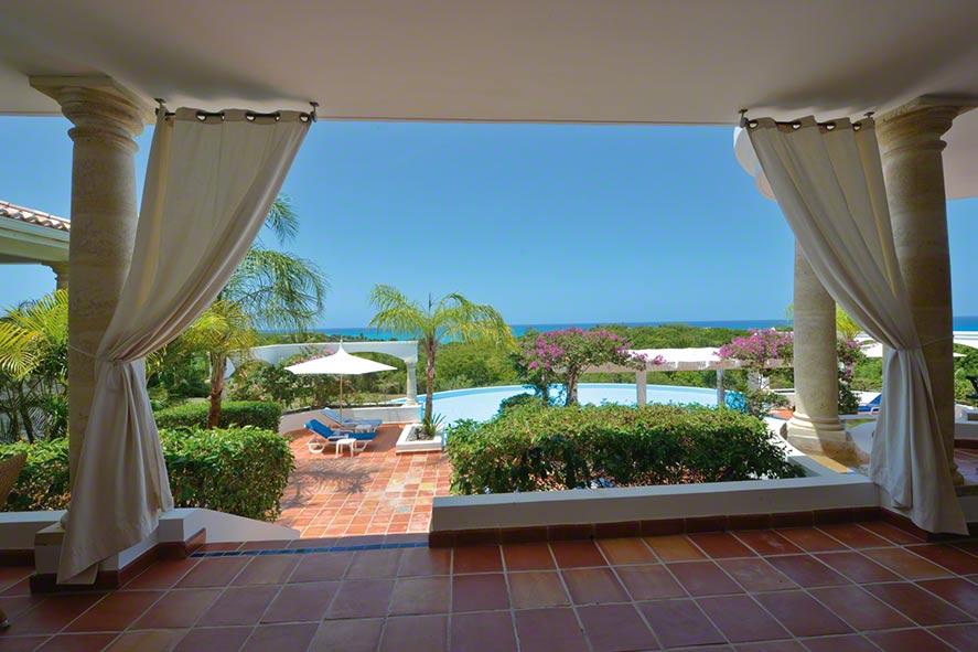 Mariposa villa rental, Baie au Prunes, Terres-Basses, Saint Martin, Caribbean.
