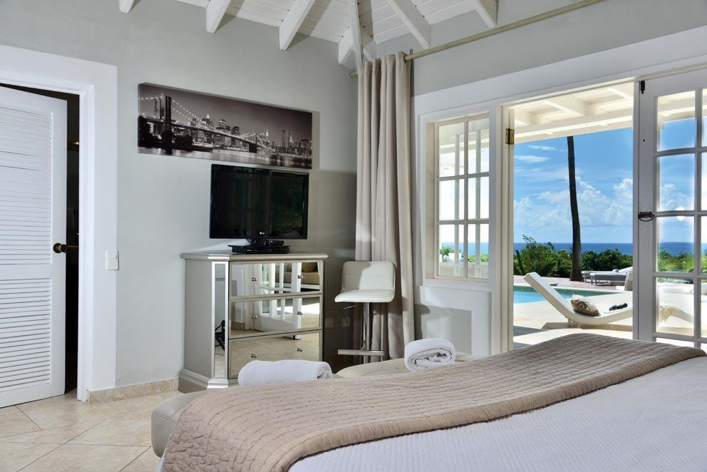 Clair de Lune, Long Bay, Terres Basses, St. Martin villa rental, French West Indies.