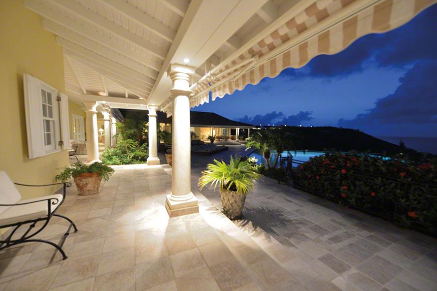 Amber villa rental, Baie Rouge, Terres-Basses, Saint Martin, Caribbean.