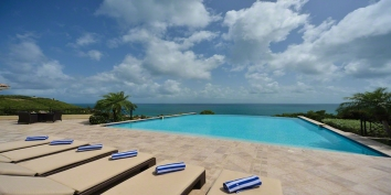 Amber, Baie Rouge, Terres Basses, St. Martin villa rental, French West Indies.