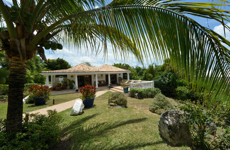 Mer Soleil, Baie Longue, Terres Basses, St. Martin villa rental, French West Indies.