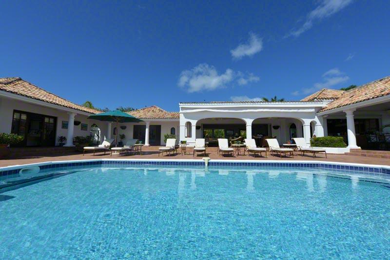 Mer Soleil villa rental, Baie Longue, Terres-Basses, Saint Martin, Caribbean.