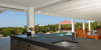 La Bali, Plum Bay, Terres Basses, St. Martin villa rental, French West Indies.