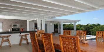 Bali villa rental, Baie aux Prunes, Terres Basses, Saint Martin, Caribbean.