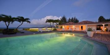 Casa Cervo villa, Baie Rouge Beach, Terres-Basses, Saint Martin, Caribbean.