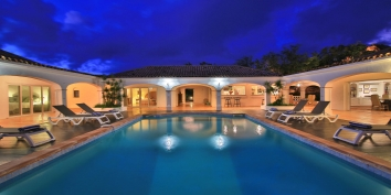 A beautiful 4 bedroom villa with unique tropical gardens and exceptional views of Simpson Bay, the Caribbean Sea and the islands of Saba, St Eustatius and St. Kitts.