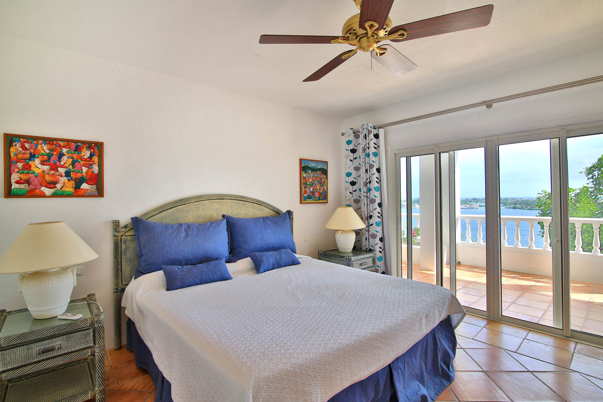Wake up to the refreshing breeze off the Caribbean Sea at Escapade villa rental, Caribbean.