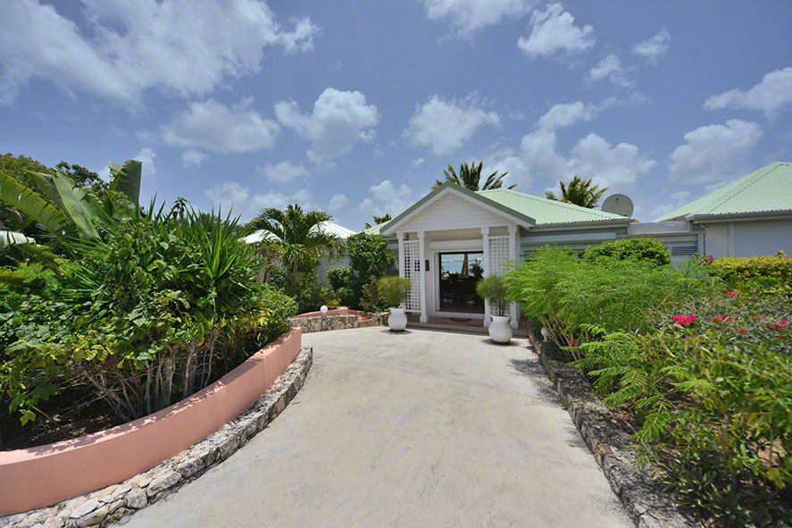 Fields of Ambrosia villa rentals, Anse au Cajoux, Terres-Basses, Saint Martin, Caribbean.