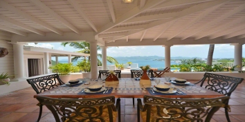Fields of Ambrosia, Anse au Cajoux, Terres Basses, St. Martin villa rental, French West Indies.