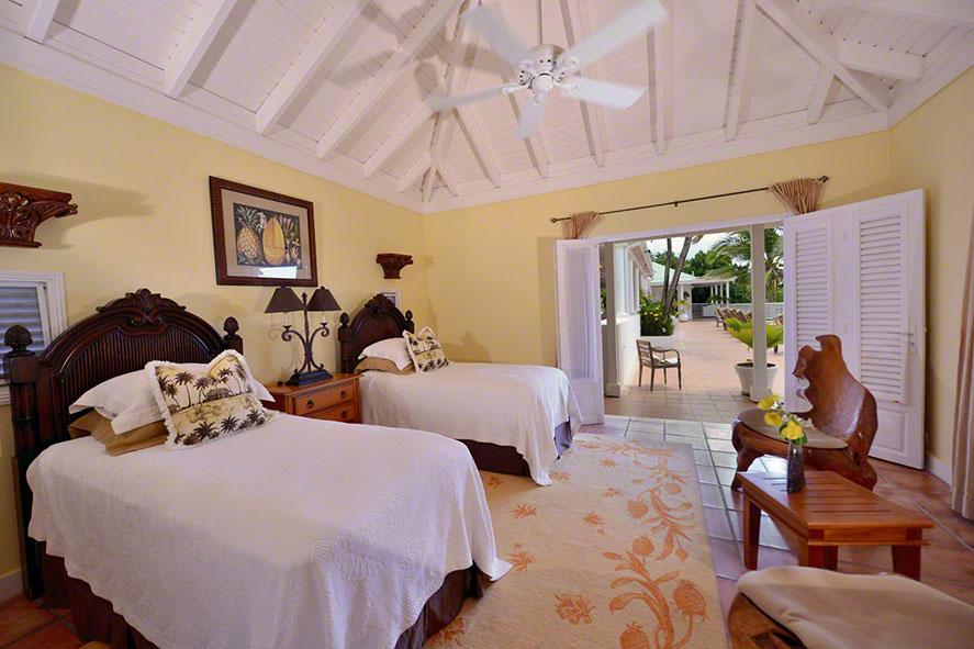 Fields of Ambrosia, Anse au Cajoux, Terres Basses, St. Martin villa rental, French West Indies.