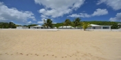 Interlude , Baie Rouge Beach, Terres-Basses, Saint Martin, Caribbean.