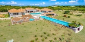 La Bastide villa rental, Baie Longue, Terres-Basses, Saint Martin, Caribbean has two swimming pools.