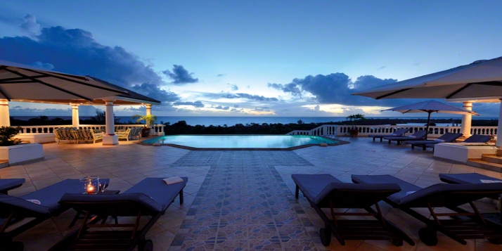 A very exclusive 9 bedroom villa overlooking La Samana hotel and Long Bay Beach!