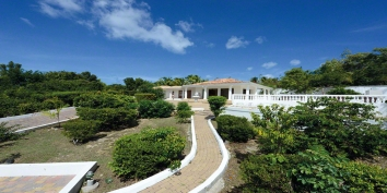 La Bella Casa villa rental, Baie Longue, Terres-Basses, Saint Martin, Caribbean.