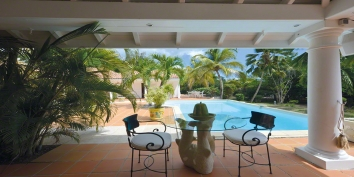 La Nina villa rental, Baie Longue, Terres-Basses, Saint Martin, Caribbean.