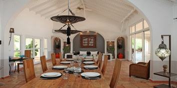 La Pergola, Baie Longue, Terres Basses, St. Martin villa rental, French West Indies.