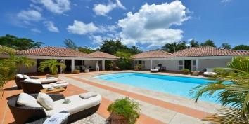 La Pinta villa rental, Baie Longue, Terres-Basses, Saint Martin, Caribbean.